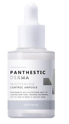 Сыворотка для лица Осветляющая EVAS (WITHME) Panthestic Derma Whitening Control Ampoule 30 мл