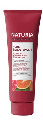 Гель для душа клюква/апельсин EVAS (Naturia) Pure Body Wash (Cranberry & Orange) 100 мл