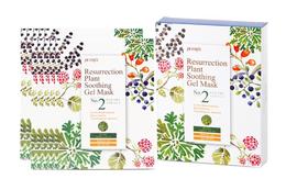 Набор маска д/лица тканевая Иерихонская Роза PETITFEE Resurrection Plant Soothing Gel Mask 10 шт