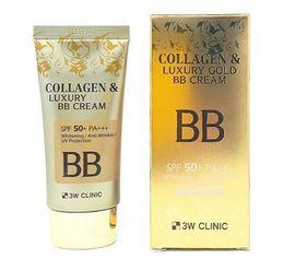 """Крем BB с Коллаген/Золото 3W CLINIC """"Collagen&Luxury Gold"""" 100 мл"""