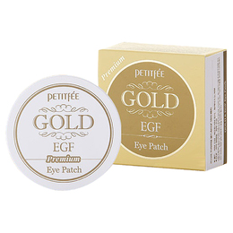 Набор патчей для век гидрогел Премиум Золото/EGF PETITFEE Premium Gold & EGF Hydrogel Eye Patch 60 шт