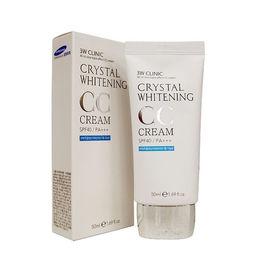Осветляющий СС крем для лица 3W CLINIC Crystal Whitening CC Cream SPF 50/PA+++ (glitter beige) 50 мл