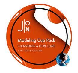 Альгинатная маска Очищение и Сужение пор J:ON Cleansing & Pore Care Modeling Pack