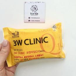 Мыло с коэнзимом Антивозрастное 3W CLINIC Q10 Dirt Soap 150 гр