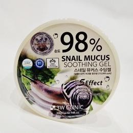 Гель универсальный Улиточный муцин 3W CLINIC Snail Soothing Gel 98% 300 мл