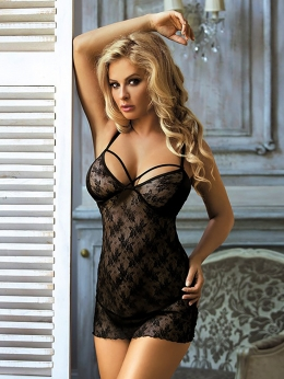 Комплект сорочка+стринги Excellent Beauty 323