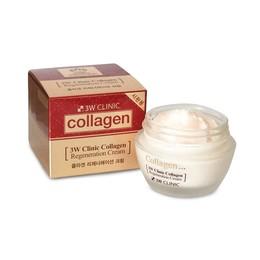 Лифтинг/Крем для лица с коллагеном 3W CLINIC Collagen Regeneration Cream 60 мл