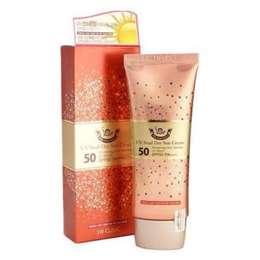 Солнцезащитный крем с Улиточным Муцином 3W CLINIC UV Snail Day Sun Cream SPF 50+ PA+++ 70 мл
