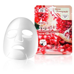 Набор/Тканевая маска для лица Гранат 3W CLINIC Fresh Pomegranate Mask Sheet 10 шт