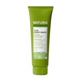 Гель для душа мята/лайм EVAS (Naturia) Pure Body Wash (Wild Mint & Lime) 100 мл