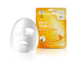 Набор/Тканевая маска для лица Коэнзим 3W CLINIC Fresh Coenzyme Q 10 Mask Sheet 10 шт