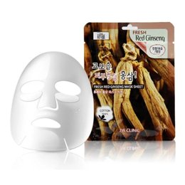 Набор/Тканевая маска для лица Красный Женьшень 3W CLINIC Fresh Red Ginseng Mask Sheet 10 шт