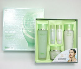 Улиточный муцин/Набор для лица 3W CLINIC Snail Moist Control Skin Care 3set тоник/эмульсия/крем