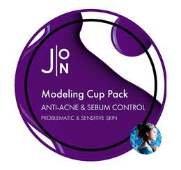 Альгинатная маска для лица Анти-Акне и Себум Контроль J:ON  Anti-Acne & Sebum Control Modeling Pack