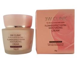 Увлажнение/Крем для лица 3W CLINIC Flower Effect Extra Moisture Cream 50 гр