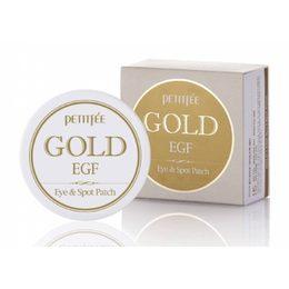 Набор патчей для век гидрогел. Золото/EGF PETITFEE Gold & EGF Eye&Spot Patch 90 шт