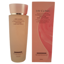 Увлажнение/Скин-тоник для лица 3W CLINIC Flower Effect Extra Moisture Skin Softener 150 мл