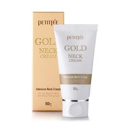 Крем для шеи антивозрастной PETITFEE Gold Intensive Neks Cream 50 гр