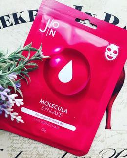 Набор/Тканевая маска для лица Змеиный пептид J:ON Molecula Syn-Ake  Daily Essence Mask 23 мл 10 шт
