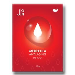 Набор/Тканевые патчи (маски) для глаз J:ON Molecula Anti-Aging eye Patch 10 шт*12 гр