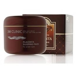 Маска д/лица ночная Плацента 3W CLINIC Placenta Sleeping Pack 100 мл