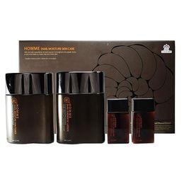 Набор для мужчин-комплексный уход 3W CLINIC Snail 2- Step Kit Basic Skin Care