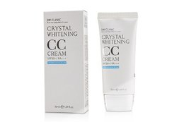 Осветляющий СС крем для лица 3W CLINIC Crystal Whitening CC Cream SPF 50/PA+++ (natural beige) 50 мл