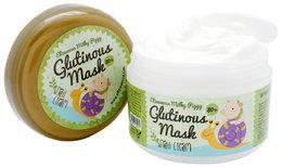 """Крем-маска для лица ночная """"Улиточный муцин"""" ELIZAVECCA Milky Piggy Glutinous 80% Mask 100 гр"""