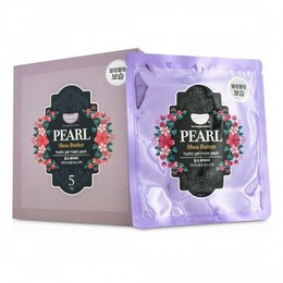 Набор маска для лица гидрогелевая с маслом ши и жемчужной пудрой KOELF Pearl & Shea Butter 5 шт