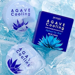 Набор патчей для век гидрогел. Агава PETITFEE Agave Cooling Hydrogel Eye Mask 60 шт