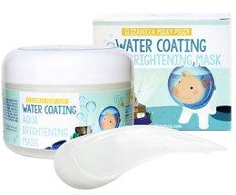 Маска для лица ночная увлажнение ELIZAVECCA Water Coating Aqua Brightening Mask 100 мл
