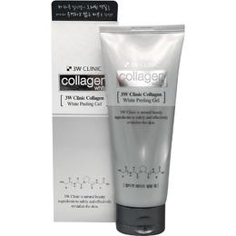 Осветляющий пилинг гель с Коллагеном 3W CLINIC Collagen Peeling Gel 180 мл