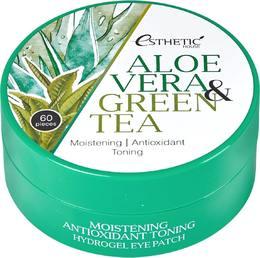 Гидрогел. патчи д/ глаз Алоэ/Зеленый чай ESTHETIC HOUSE Aloe Vera&Green Tea Hydrogel eye Patch 60 шт