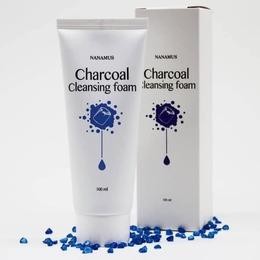 Пенка для умывания с Углем NANAMUS Charcoal Foam Cleansing 100 мл