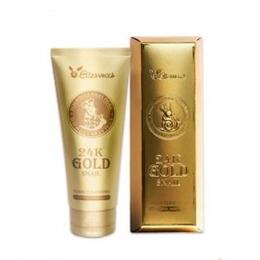 Пенка для умывания Муцин/золото ELIZAVECCA 24K Gold Snail Cleansing Foam 180 мл