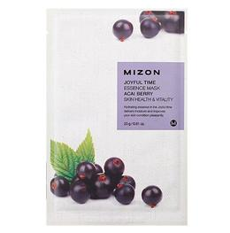 Тканевая маска для лица с экстрактом Ягод Асаи MIZON Joyful Time Essence Mask Acai Berry