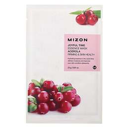 Тканевая маска для лица с экстрактом Барбадосской Вишни MIZON Joyful Time Essence Mask Acerola