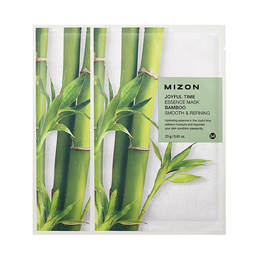 Тканевая маска для лица с экстрактом Бамбука MIZON  Joyful Time Essence Mask Bamboo