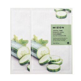 Тканевая маска для лица с экстрактом Огурца MIZON Joyful Time Essence Mask Cucumber