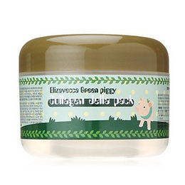 "Маска для лица желейная с коллагеном ""Лифтинг"" ELIZAVECCA  Green Piggy Collagen Jella Pack 100 мл"
