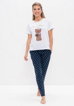 Пижама с брюками Cleo SU986