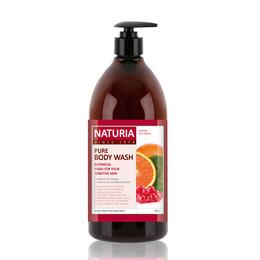 Гель для душа клюква/апельсин EVAS (Naturia) Pure Body Wash (Cranberry & Orange) 750 мл