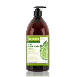 Гель для душа мята/лайм EVAS (Naturia) Pure Body Wash (Wild Mint & Lime) 750 мл