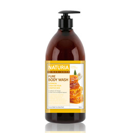 Гель для душа мед/лилия EVAS (Naturia) Pure Body Wash (Honey & White Lily) 750 мл