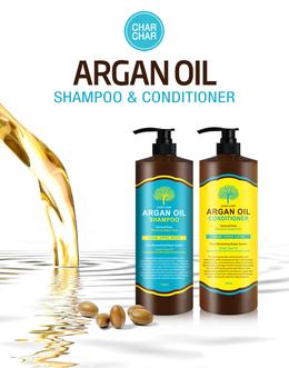 Шампунь для волос Аргановый EVAS (Char Char) Argan Oil Shampoo 1500 мл