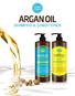 Кондиционер для волос Аргановый EVAS (Char Char) Argan Oil Conditioner 1500 мл