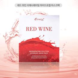 Набор гидрогелевая маска для лица ESTHETIC HOUSE Red Wine Regeneraning Solution Hydrogel Mask Pack 5 шт
