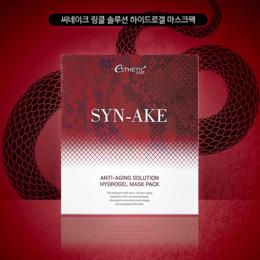 Набор гидрогелевая маска для лица ESTHETIC HOUSE Syn-Ake Anti-Aging Solution Hydrogel Mask Pack 5 шт