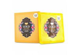 Набор маска для лица гидрогелевая с золотом и маточным молочком KOELF Gold &Royal Jelly Mack 5 шт